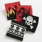 Girls Boys Sweatband Wristband Skull Flames Dragon Various Deisgns Brand New