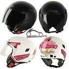 Nitro NGJP UNO Open Face Helmet Scooter Bike Motorbike Motorcycle Crash Helmet
