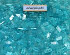 Внешний вид - LEGO - 1x2 Tiles Translucent Light Blue - Trans Finishing Plates Smooth Bulk Lot
