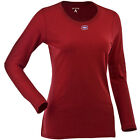 Women's Montreal Canadiens Relax LS 100% Cotton Washed Jersey Scoop Neck Tee