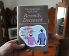 Beetlejuice Handbook for the Recently Deceased notebook! tim burton, horror prop