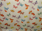 BUTTERFLIES PVC WIPE CLEAN OILCLOTH WIPEABLE COVER TABLECLOTH click for sizes