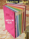 Внешний вид - Rainbow Quran | Koran | Beautiful Design w/ Hard Cover | Medium | Free Ship USA