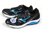 Mizuno Wave Impetus Wide Breathable Running 2014 Black/Blue/Silver J1GE141427