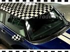 CHECK CHEQUERED  GLOSS FINISH VINYL WRAP FILM FILM CAR WRAPPING RACING GRAPHIC