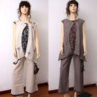 CX057 / CX154 Women Summer Clothing Set Casual Dress Pant Fashion Chinese Trend