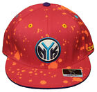 New! New York Knicks - Fitted 3D Embroidered Cap - Reebok Paint Splash Kolors