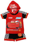 Disney CARS T-Shirt Shorts Cotton Outfit Set Boys Kids Clothes Age 3-8 Years