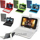 """New Stand USB Protective PU Leather Case Keyboard For 7.0"""" inch Tablet PC ePad"""