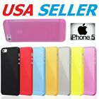 Apple iPhone 5s / 5 case Super Thin 0.3mm Matte Hard Cover Protector SE (2016)