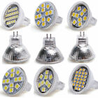 12V 1-10X MR11 9/12/24 SMD 5050 3528 LED Energy Saving Spot Light Bulb Lamp
