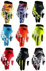 2017 100% iTRACK MOTOCROSS GLOVES ENDURO RACING MTB BMX 100 PERCENT NEW BIKE