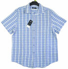 Men's Chainstore Checked Short Sleeve Summer Shirt M - XXXL  NEW