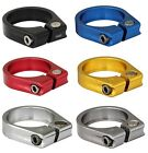 Time Trial Road Bike Seatpost Clamp - VARIOUS COLOURS - 31.8mm / 34.9mm
