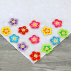 12pcs Diy Embroidered Motif Plum Flower Patch iron or sew on appliques FT24