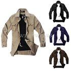 Mens Slim Fit Summer Cargo Fashion Casual Jacket Work Coat 10589 M~XXL MFR