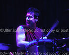 ROB HIRST MIDNIGHT OIL PHOTO Drums Concert Photo by Marty Temme 1A