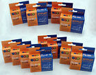 12 CLI8 & PGI5Bk CHIPPED Ink Cartridges compatible with CANON PIXMA printers