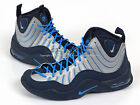Nike Air Bakin' Midnight Navy/Metallic Silver-Photo Blue Tim Hardaway 316383-400