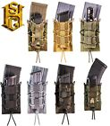 HSGI MOLLE or BELT Double Decker Taco Mag Pouch-11DD00/13DD00-Choose Your Color