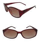 Bifocal Tinted Sunglasses Brown Frame Spring Hinges Pouch UV400 Sunreaders 417