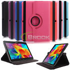 Rotating Smart Case Sleep/Wake Up Cover for Samsung Galaxy Tab4 10.1 SM-T530NU
