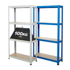 Garage Shelving Economy Home Storage 1480mm High 100kg UDL Bay Shelves Clearance