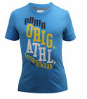 Puma Graphic Cotton Blue Crew Neck Mens T Shirt Top Tee Short Sleeve 558232 12