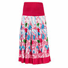 (Free PnP) Womens/Ladies Climbing Flower 2 In 1 Cotton Dress and Skirt UK 8-22