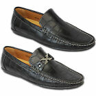 Mens Shoes Moccasins Loafers Slip On Deck Style Driving Crocodile Casual Summer