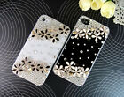 For iPhone4 4S iPhone5 5S Case Cover Small Shining Flower Cute SK0304