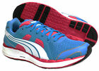 Puma Faas 550 NM Womens Girls Running Blue Lace Up Trainers (186269 04 D34)