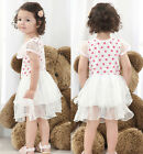 Baby Girl Toddler Polka Dot Princess Party Dress One-piece Kid Tulle Skirt sytle
