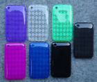 Faceplate Phone Cover SOFT TPU GEL Case FOR Apple iPhone 3G / 3G S