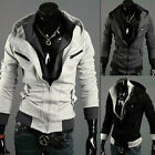 Stylish Men's Casual Slim Zip Up Hoodies Coat Jacket Hoody Top Sweater Outerwear