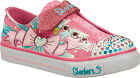 Girls Skechers Twinkle Toes Shuffles Pink  Lil Lady Infant Sizes 4,5 New £17.99