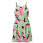 Ladies Jumpsuit Womens Playsuit Floral Print All In One Strappy Casual Summer