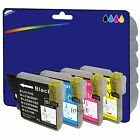 1 Set of Compatible Printer Ink Cartridges for Brother LC980 / LC1100 Range