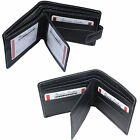 Hot Sale Mens Wallets Black Leather Gents Purses Credit Card Holder Quality New