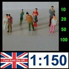 1:150 Scale Model Painted People N gauge Train Architecture Figures Coloured   a