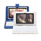 "iRulu 7"" Android 4.2 Dual Core Cam Tablet PC 16GB 1.5GHz WIFI White w/ Keyboards"