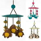 NEW 3 Sprouts Animal Baby Mobile - Bear, Owl or Peacock