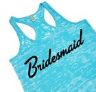 Bridesmaid Tank Top Bridal Party Workout Top Cute Gift For Bridesmaids