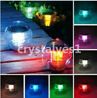 2×Solar Power Swimming pool automatic Pond Sea Floating Ball LEDs Light CA D092