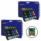 2 Sets of non-original Printer Ink Cartridges for the Epson E2621-4 Range