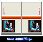 Spy Hunter Arcade Side Art Panel Stickers Graphics / Laminated All Sizes
