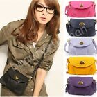 Fashion Women & Girl New Faux Leather Purse Shoulder Tote Handbag Cross Body Bag