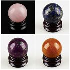 A5405 40mm Kinds of stone ball cabochon