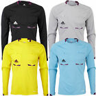 adidas Performance Mens Climacool Long Sleeve Referee Shirt Jersey Top New