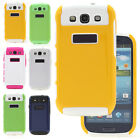 Multi-colors Dual Layer Hybrid Hard Case Cover For Samsung Galaxy S3 S III i9300